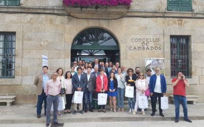 La Asociación Española de Ciudades del Vino celebra su XXIII Asamblea en Cambados (Pontevedra)