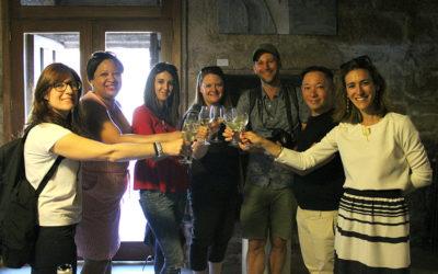 Vino, gastronomía y patrimonio cultural sorprenden a los bloggers ingleses que visitaron la Ruta do Viño Rías Baixas