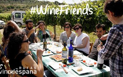 Rutas del Vino de España lanza la campaña #WineFriends para encontrar la mejor escapada enoturística entre amigos