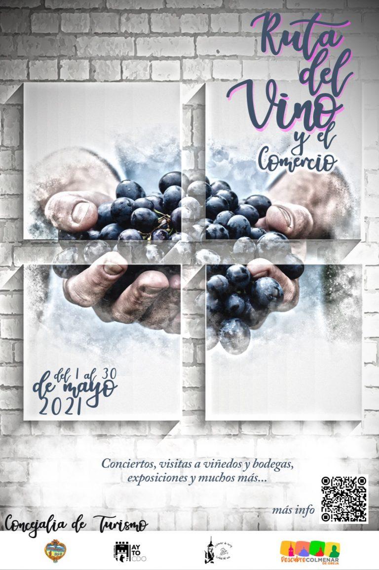 Cartel Ruta del Vino y el Comercio